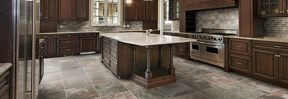 custom kitchen - Stone Flooring For Kitchen
